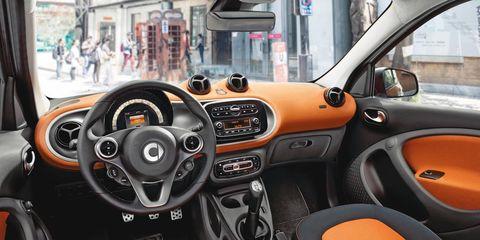 Motor vehicle, Mode of transport, Automotive mirror, Steering part, Automotive design, Steering wheel, Vehicle, Transport, Orange, Car,