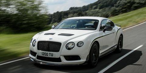Automotive design, Vehicle, Road, Grille, Bentley, Car, Rim, Automotive lighting, Fender, Personal luxury car,