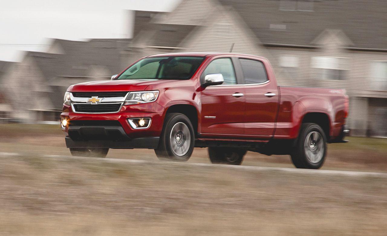 2017 Chevrolet Colorado V 6 4x4 Test 8211 Review Car And Driver
