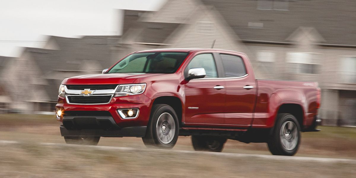2015 Chevrolet Colorado V-6 4x4 Test – Review – Car and Driver