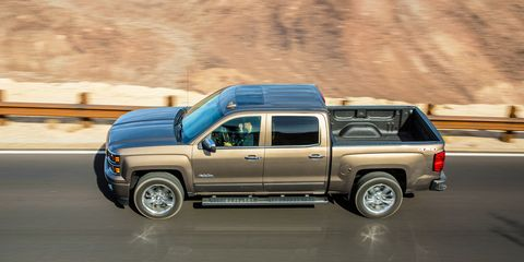 2015 Chevrolet Silverado 1500 4x4 6 2L V-8 8-Speed Test –