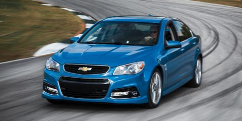 online for sale top design 2018 shoes 2015 Chevrolet SS Manual Instrumented Test – Review ...