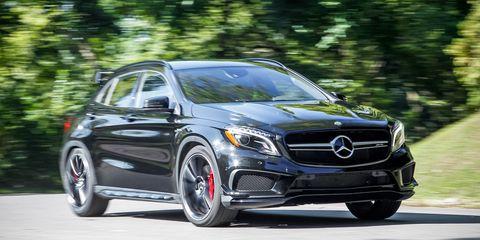 2015 Mercedes-Benz GLA45 AMG Test –