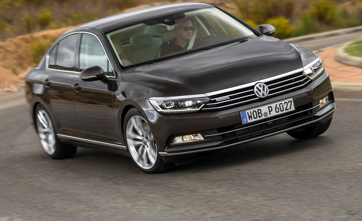 2015 Volkswagen Passat Euro Spec First Drive 8211 Review 8211 Car And Driver
