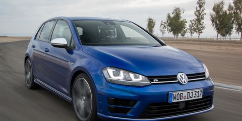 2016 Volkswagen Golf R Manual First Drive –