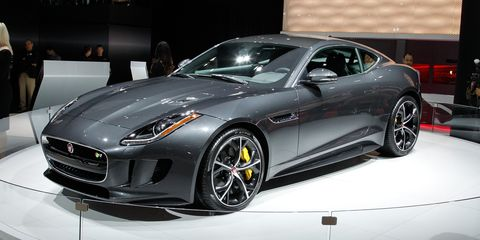 2016 Jaguar F Type Coupe And Convertible Gain Manual Awd Options The R Goes