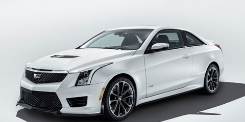 2016 Cadillac Ats V Dissected Chis Train Design And More