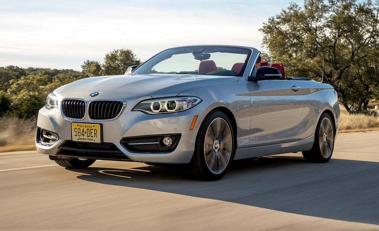2017 Bmw 228i Convertible First Drive 8211 Review Car And Driver