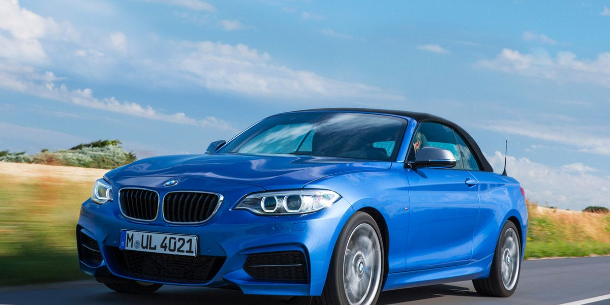 2017 Bmw M235i Convertible First Drive 8211 Review Car And Driver