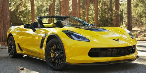 2017 Chevrolet Corvette Z06 Convertible Automatic