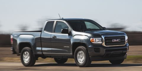 2015 GMC Canyon 2.5L 4x4 Test – Review – Car and Driver