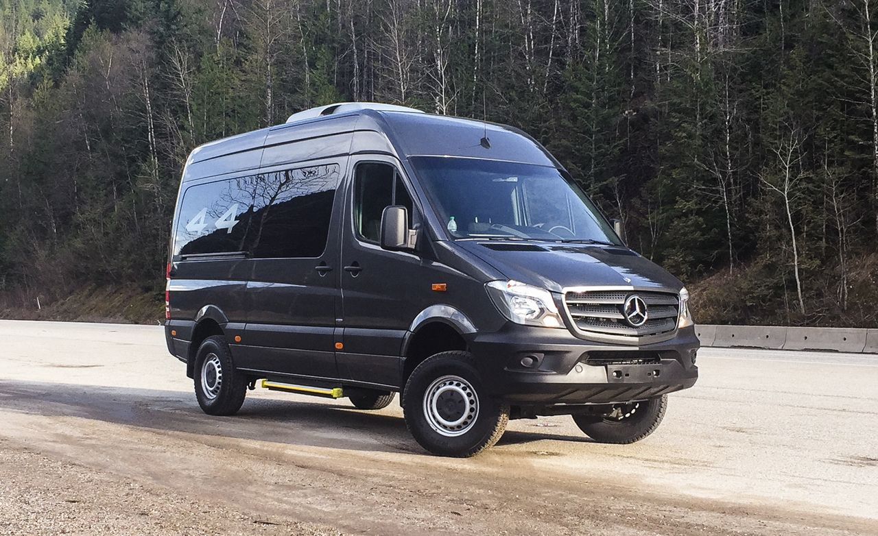 2015 Mercedes Benz Sprinter 4x4 First Drive 8211 Review 8211 Car And Driver