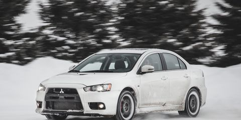 2008 evo x mr review