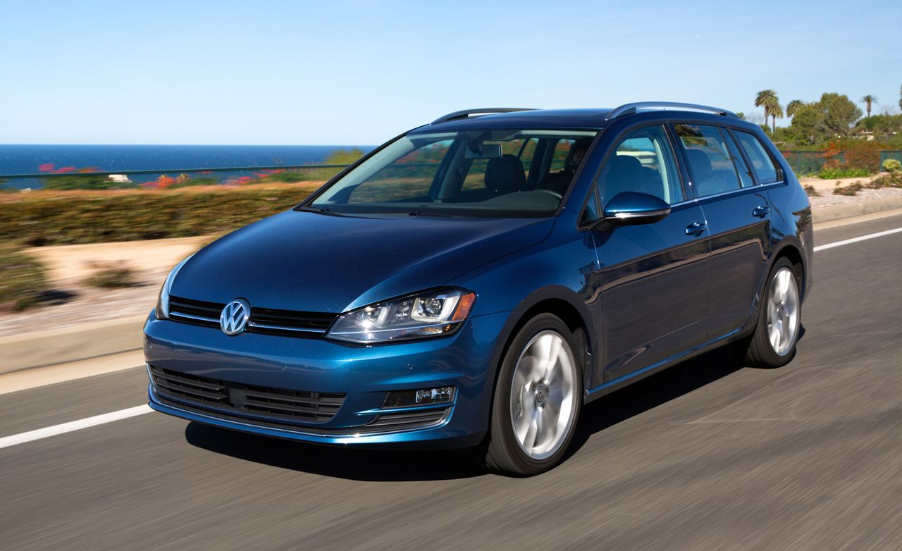 2017 Volkswagen Golf Sportwagen First Drive 8211 Review Car And Driver