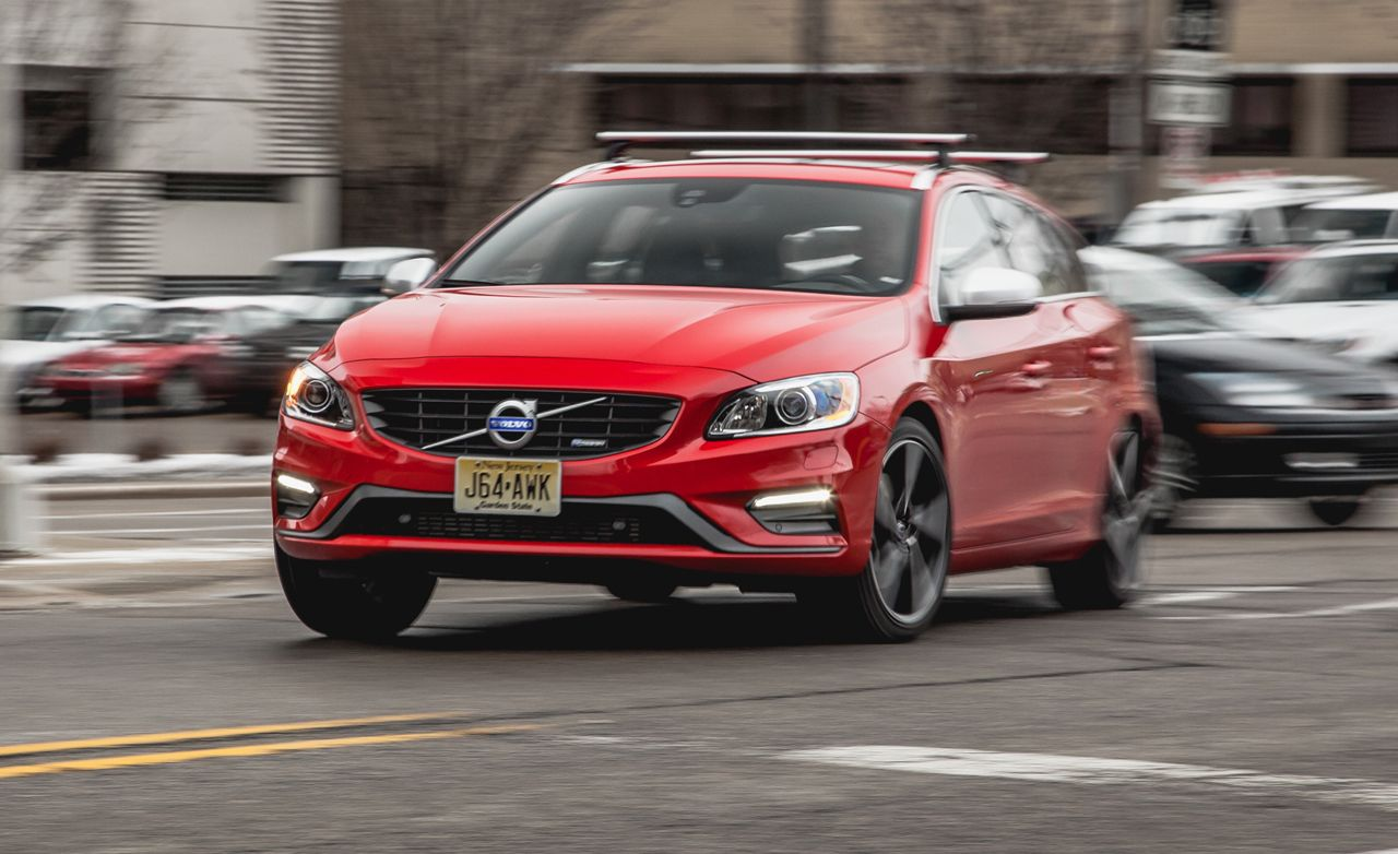 2017 Volvo V60 T6 R Design Instrumented Test 8211 Review Car And Driver