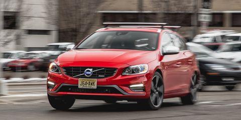 2015 Volvo V60 T6 R-Design Instrumented Test –
