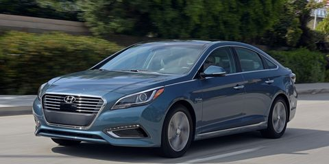 2016 Hyundai Sonata Hybrid And Plug In
