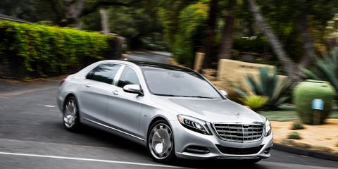 2016 Mercedes-Maybach S600 Test &#8211
