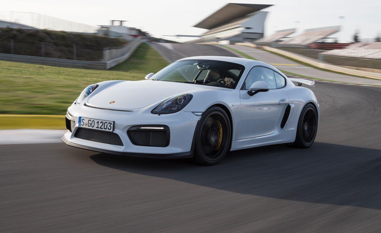 Porsche gt4 2016