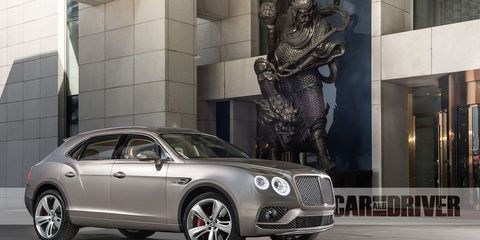 2016 Suvs Worth Waiting For >> 2016 Bentley Bentayga Suv 25 Cars Worth Waiting For 8211 Feature