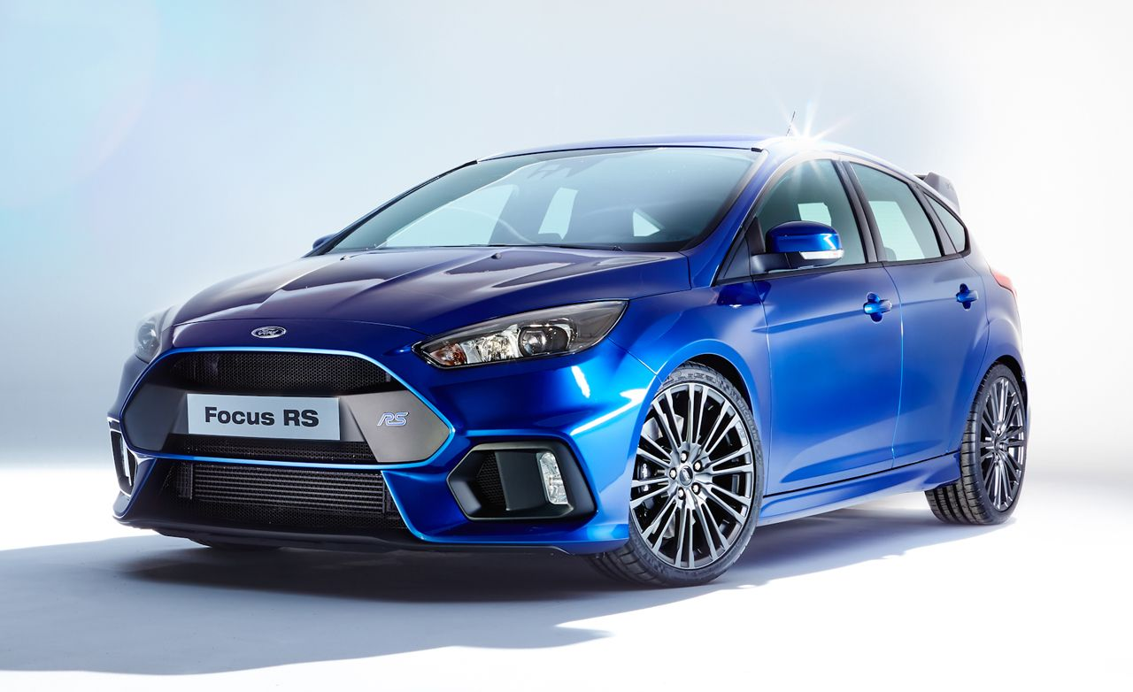 2016 Ford Focus Rs The Fanboy Fantasy Is Finally Real