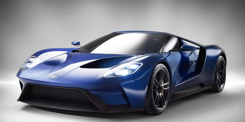 2017 Ford Gt The Blue Oval Supercar Returns