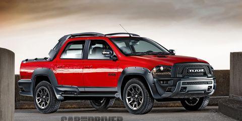 2017 Ram Rampage A Front Drive Based Dodge Dakota Redux