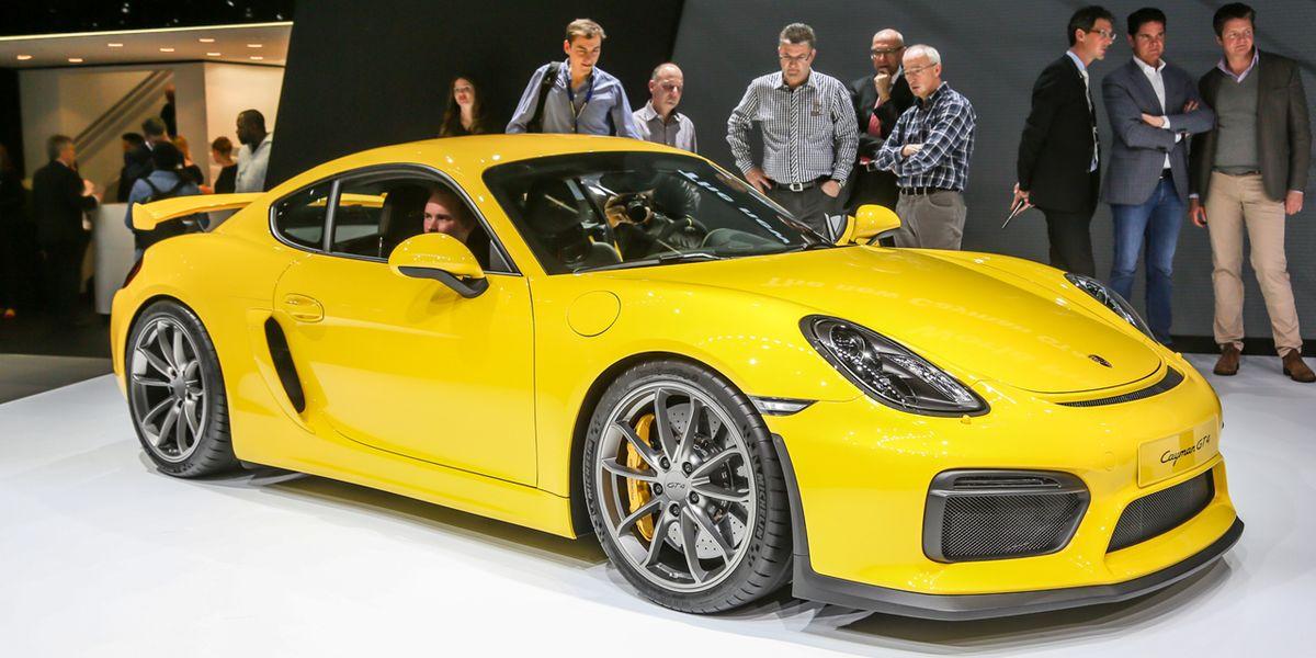 2015 Porsche Cayman Gt4 Photos And Info News Car And