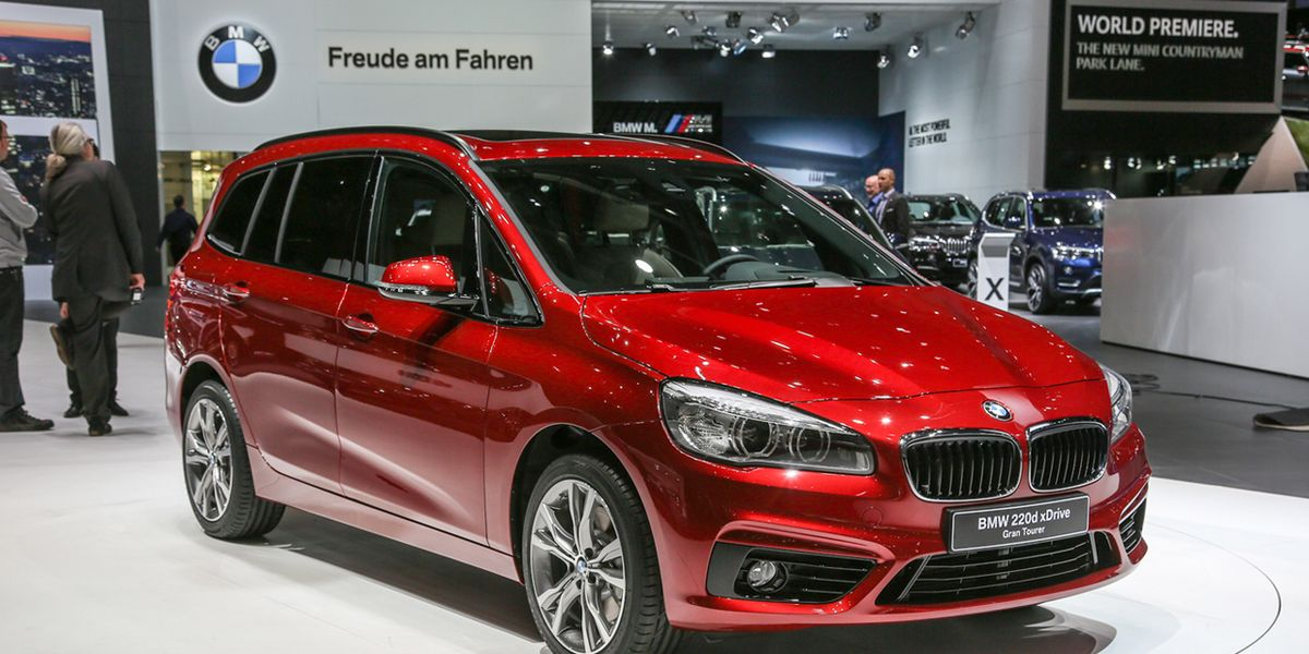 Used Alfa Romeo For Sale >> 2016 BMW 2-series Gran Tourer Revealed – News – Car and Driver