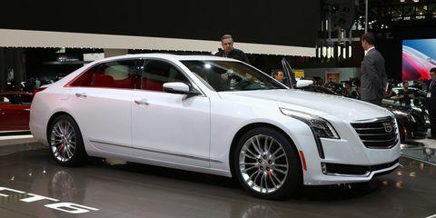 New Cadillac Ct6 >> 2016 Cadillac Ct6 Photos And Info 8211 News 8211 Car
