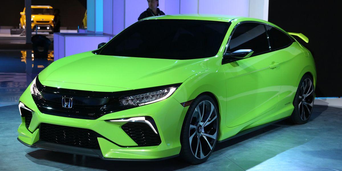 honda civic coupe concept   info news car  driver