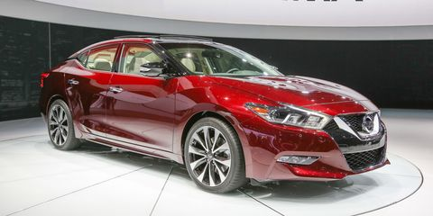 New Nissan Maxima >> 2016 Nissan Maxima Debuts In New York 8211 News 8211