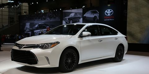 Marc Urbano The Manufacturer 2017 Toyota Avalon