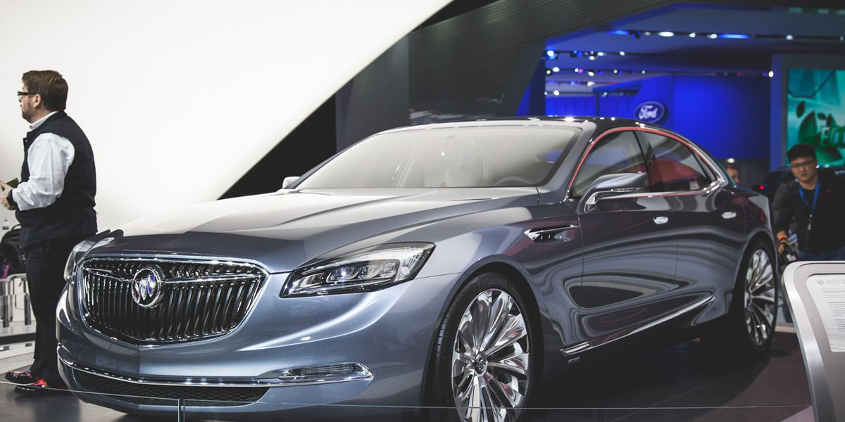 Uber Lease Car >> Buick Avenir Flagship Concept Revealed – News – Car and Driver
