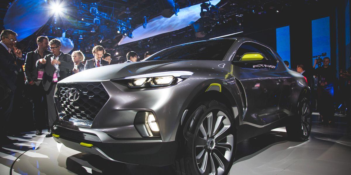 Hyundai Santa Cruz Pickup Truck Revealed: Diesel-Powered ...