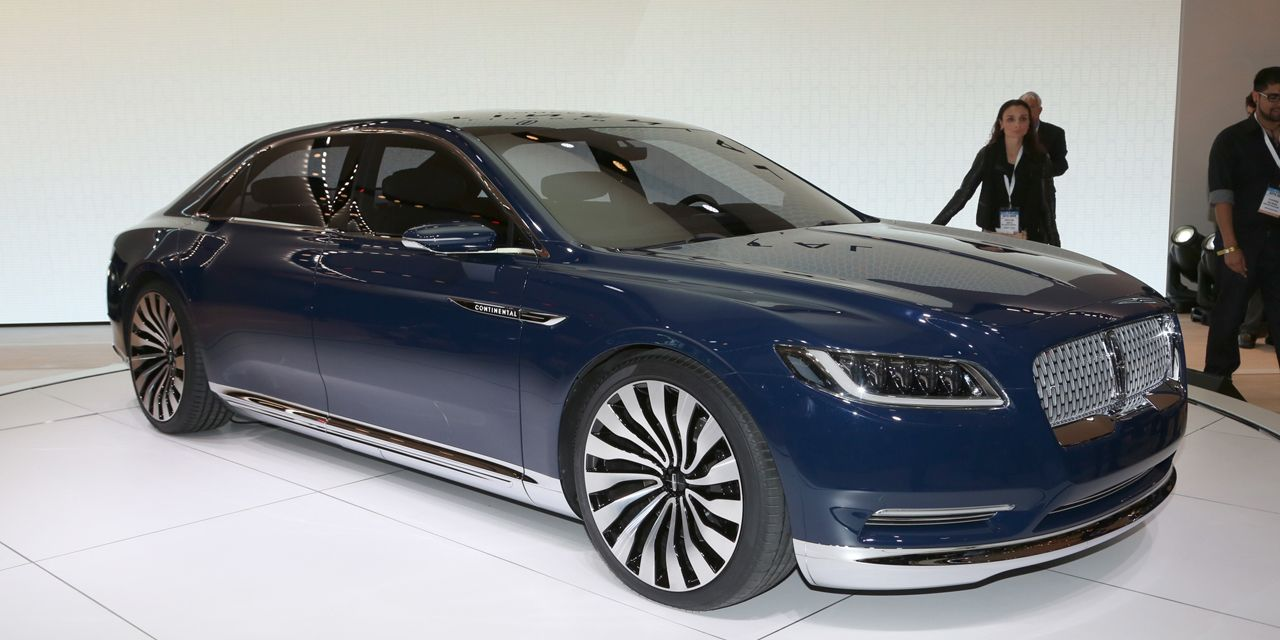 Lincoln Continental Concept Revealed 8211 News 8211 Car And Driver
