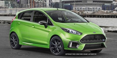 Ford Fiesta Rs 2017 >> 2017 Ford Fiesta Rs Renderings And Details 8211 News