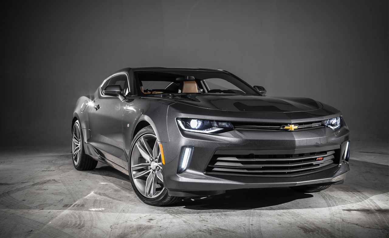 2016 Chevrolet Camaro Trim Toned And Out For Mustang Blood