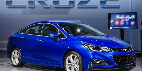 2016 Chevrolet Cruze The Second Gen Car Arrives Lighter Stronger And Tech Ier