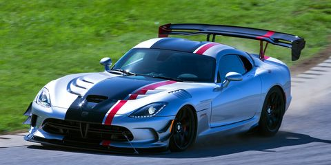 2016 Dodge Viper Acr Has More Wing Adjuility Than You Can Rattle A Snake At