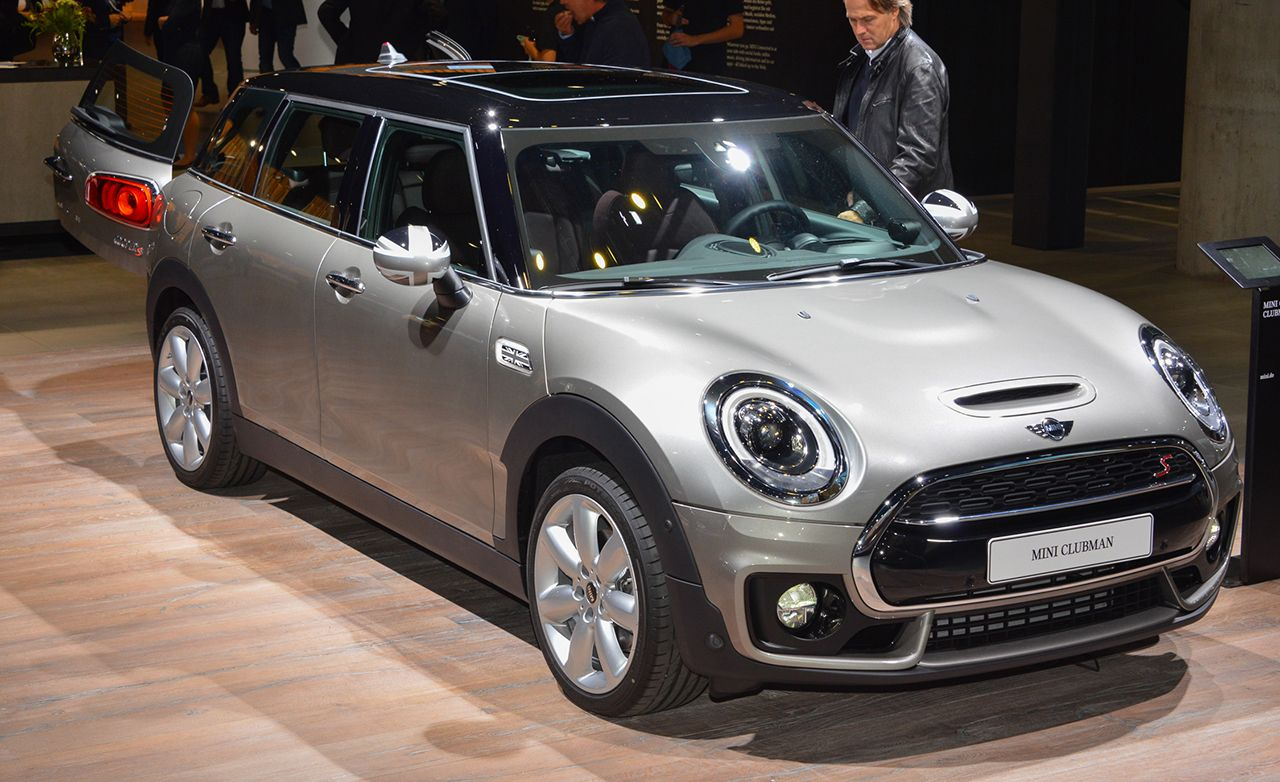 2016 Mini Clubman Revealed 8211 News 8211 Car And Driver