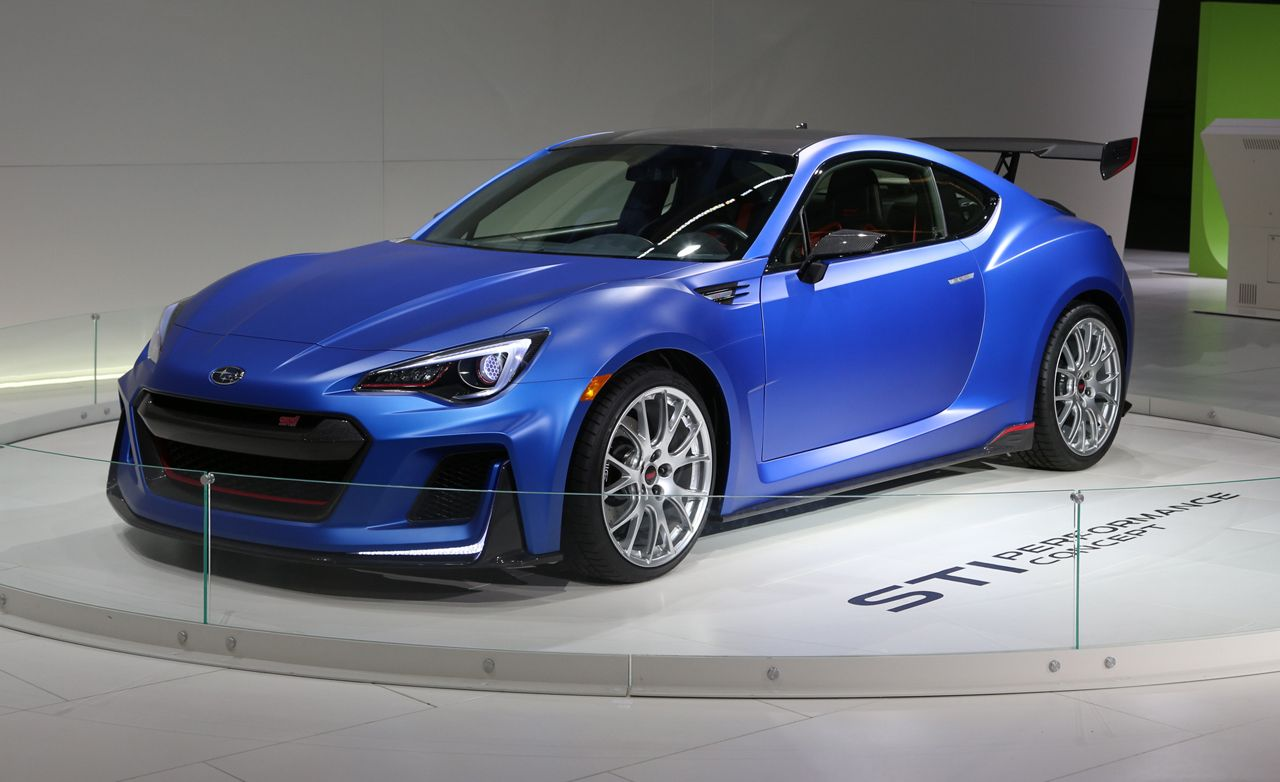 Subaru Sti Performance Concept Debuts In New York 8211 News Car And Driver