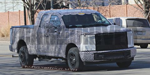 2017 Ford F Series Super Duty Spied Touched By The Aluminati