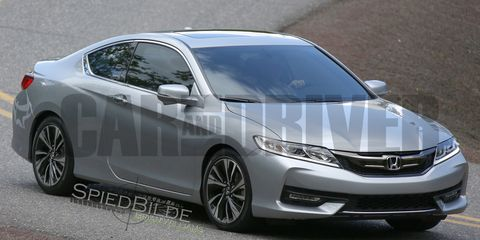Exclusive 2016 Honda Accord Coupe Spied Undisguised