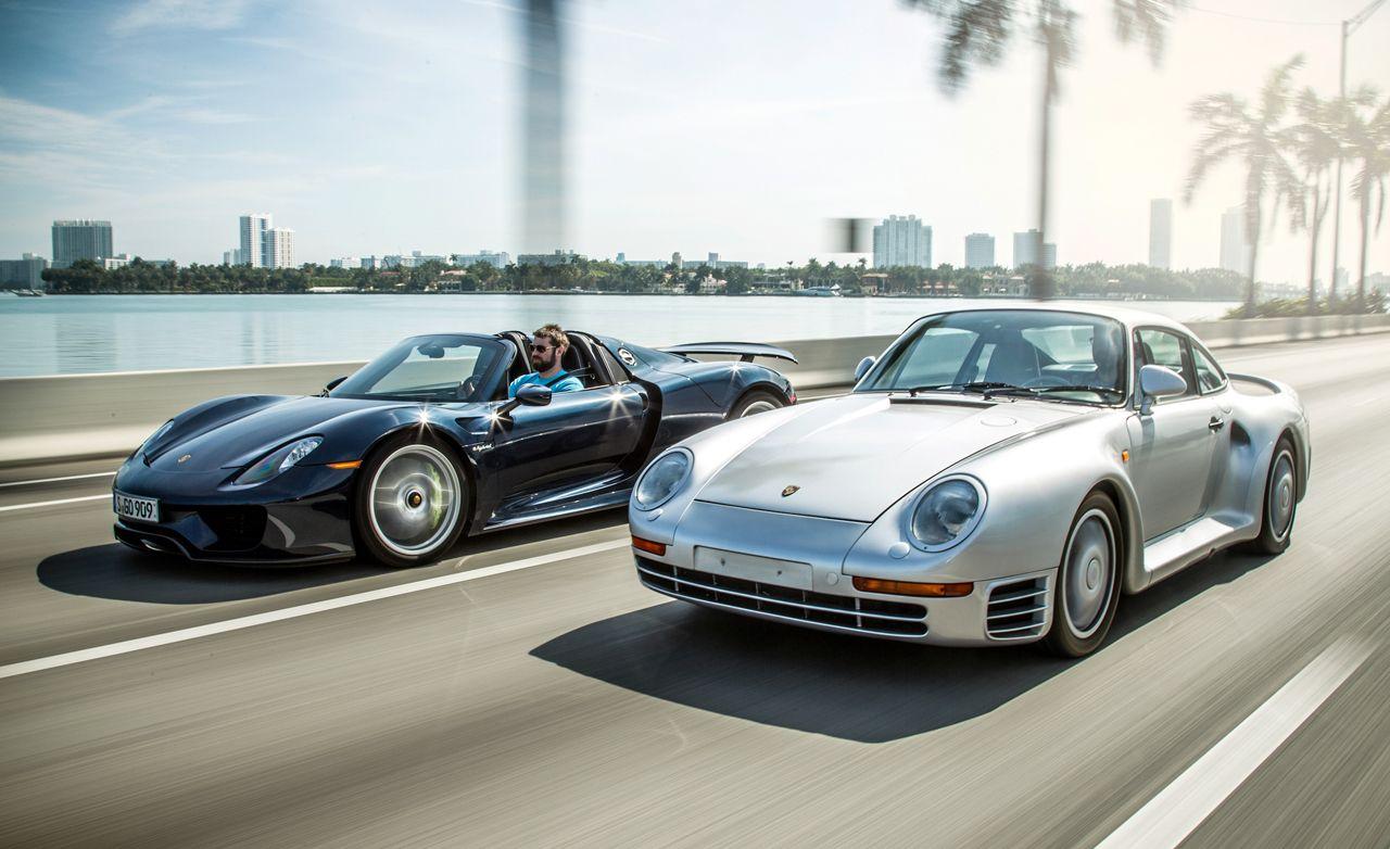 1989 Porsche 959 vs. 2015 Porsche 918 Spyder \u00268211; Feature