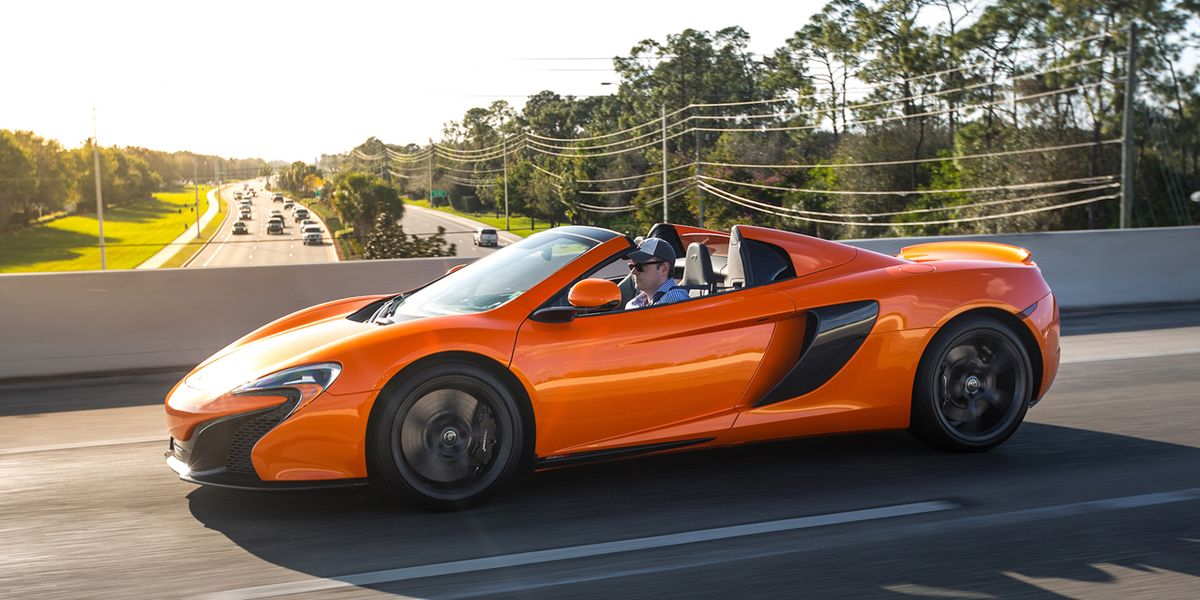 2015 McLaren 650S Spider Tested –