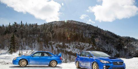 67750e4c0ab32 2015 Subaru WRX STI vs. 2004 Subaru Impreza WRX STi   8211  Feature ...
