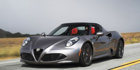 alfa romeo 4c spider for sale