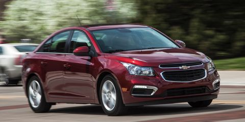 Chevy Cruze Diesel For Sale >> 2015 Chevrolet Cruze Review 8211 Compact Sedan Chevy Cruze Turbo