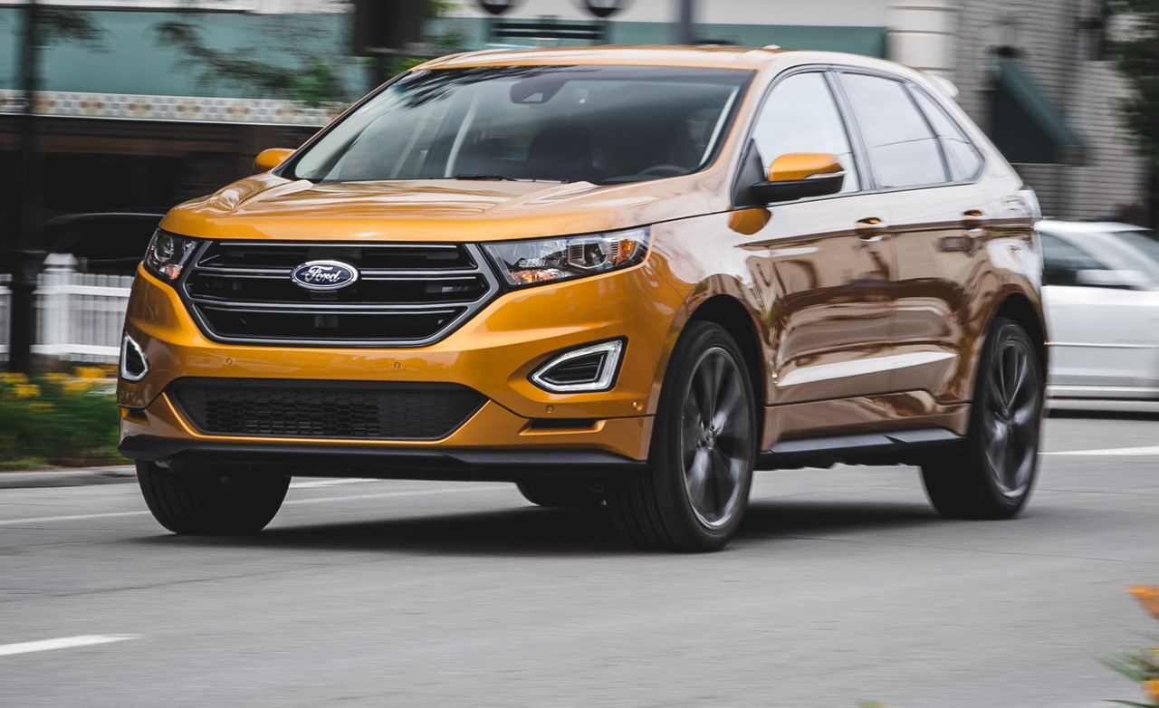 2017 Ford Edge Sport 2 7l Ecoboost Test 8211 Review Car And Driver
